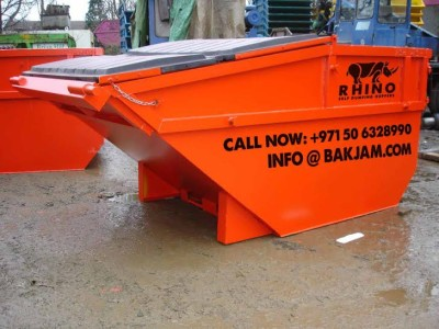 MANUFACTURED FROM GRADE ASTM A36 STEEL . GARBAGE SKIPS WHOLESALE FROM FACTORY. MADE IN DUBAI