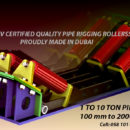 1-10 TON PIPE RIGGING ROLLERS
