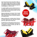 5 TON PIPE RIGGING ROLLERS