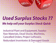 USED SURPLUS STOCK BUYER