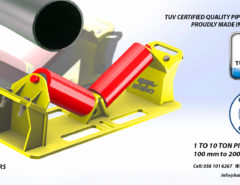 TECHNOSMITHS UNDERTAKE DESIGN, FABRICATION AND SUPPLY OF PIPE RIGGING ROLLERS IN DUBAI