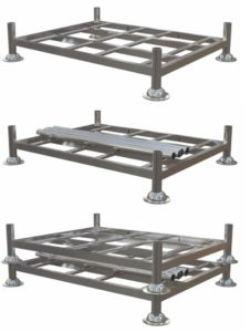 steel pallets and pallet converters