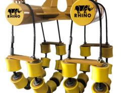 PIPE CRADLES DUBAI-12 inch to 24 inch pipe rigging-pipe lowering cradle-Dual_Head_Roller
